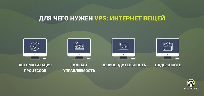 VPS для татчиков интернета вещей