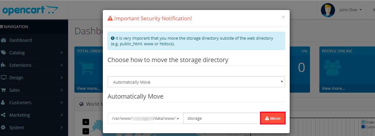 Инструкция по установке Opencart на хостинге