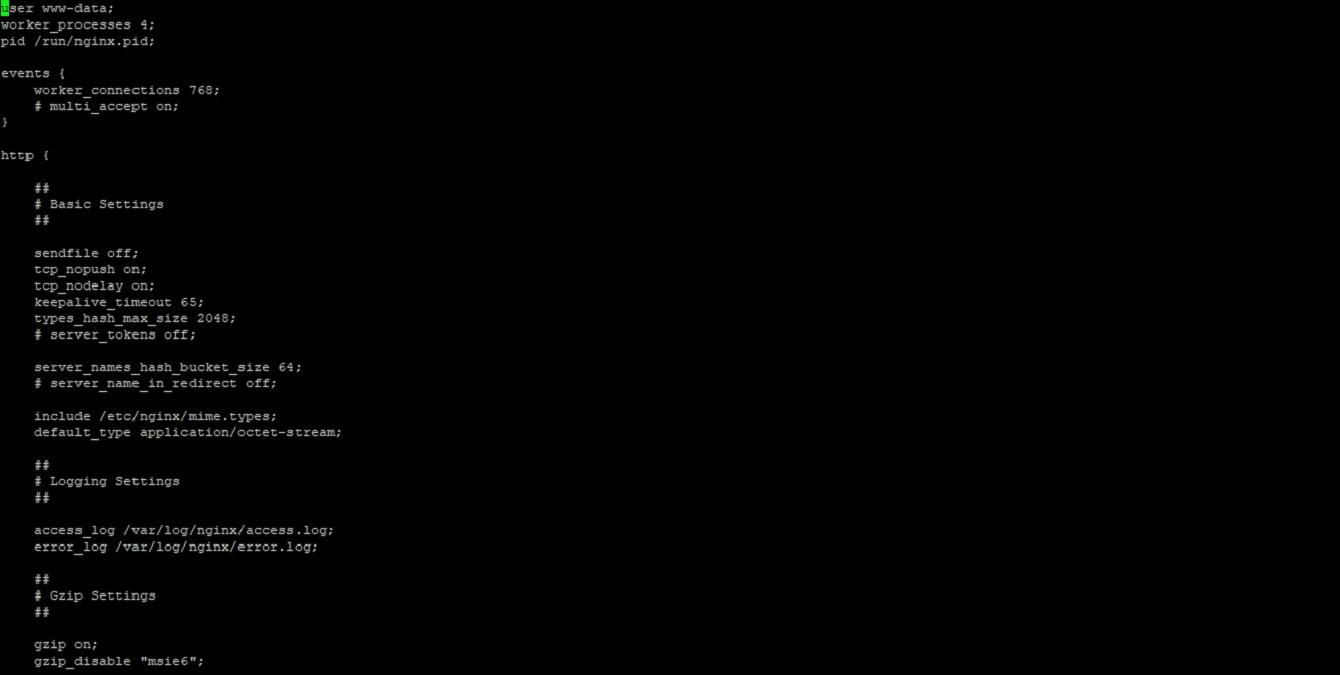 Что такое Nginx - конфигурация