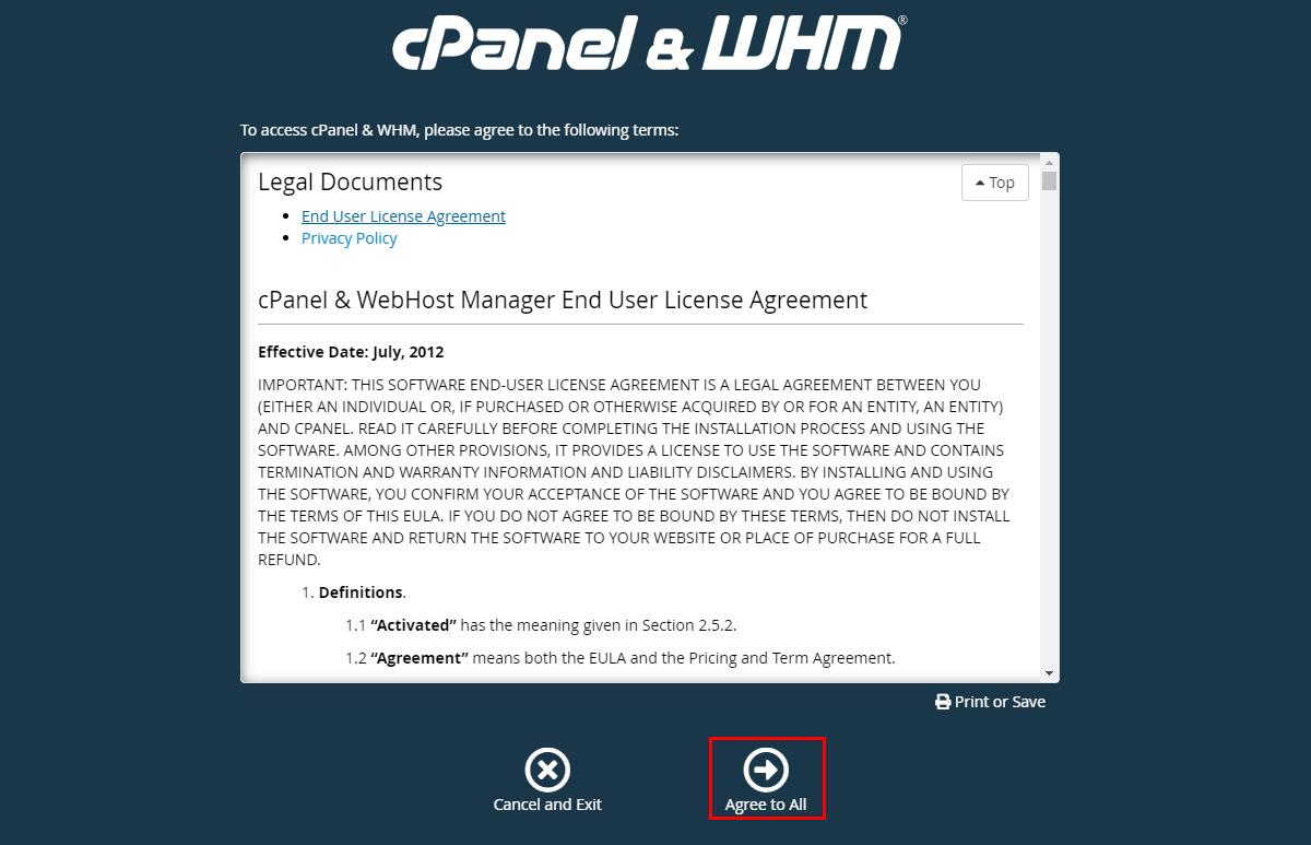 Как установить и настроить cPanel на VPS/VDS сервере