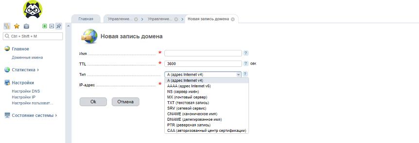 Что такое DNS записи - как редактировать