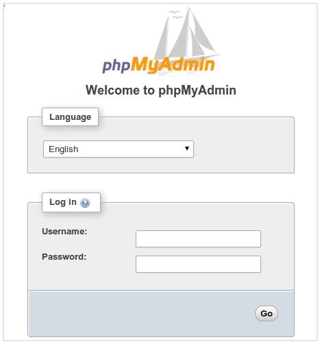 Процесс установки PhpMyAdmin Debian