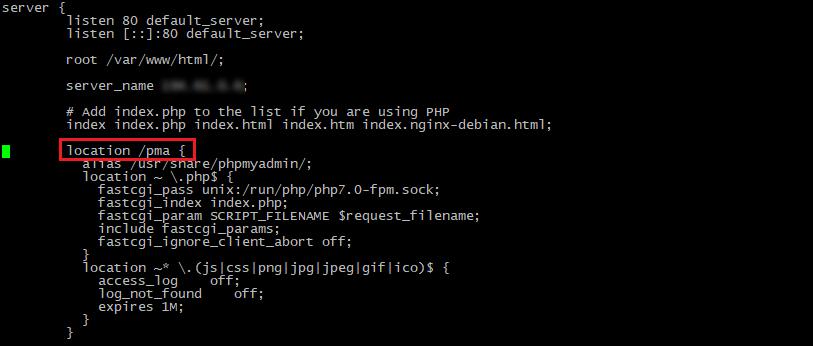 PhpMyAdmin Debian - Настройка нового уровня аутентификации